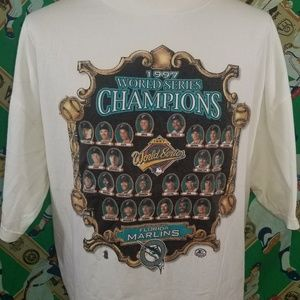 1997 Mariners championship tshirt